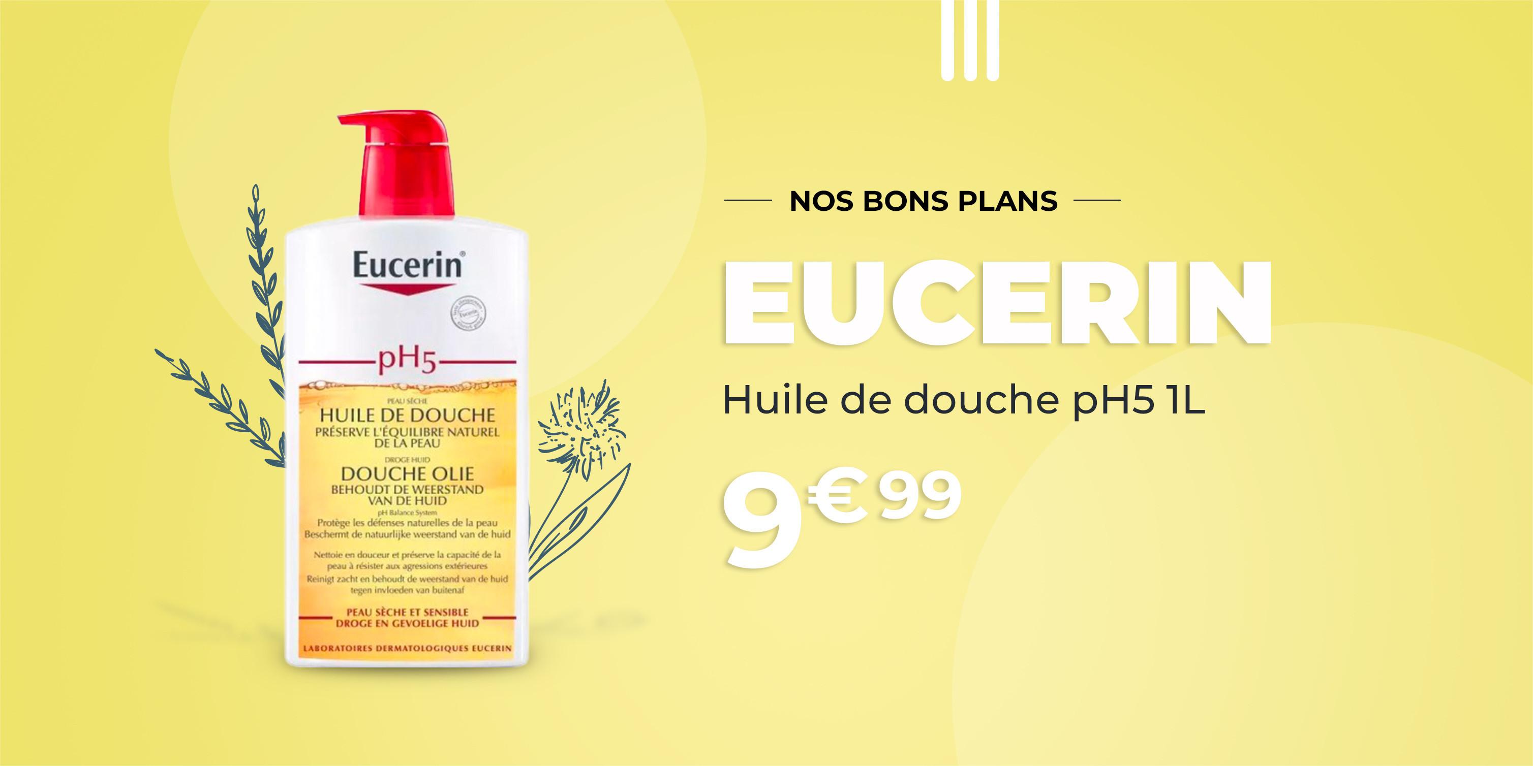 EUCERIN Huile de Douche pH5 - 1L